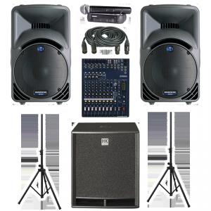 Аренда звукового оборудования. Комплект Стандартный.