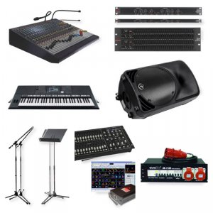 Новости. Аренда звука, света и другого оборудования.