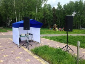 Медиум комплект звука и палатка