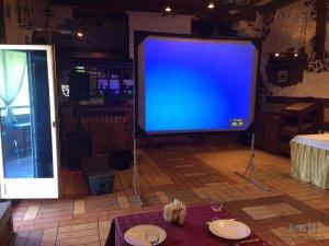 Видеооборудование. Комплект Проектор с экраном.