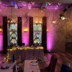 Подсветка и освещение на свадьбу