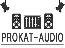 Логотип компании «Prokat-Audio» - аренда звукового и светового оборудования