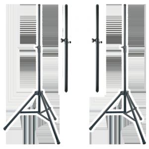 Стойки для акустических систем. Соединительные или напольные.